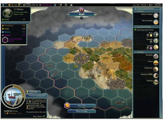 Скриншот Civilization 5
