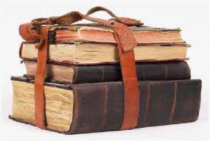 старые ветхие книги