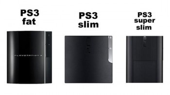 Виды playstation 3: fat, slim, super slim