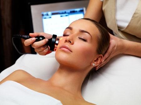 Косметические процедуры на лице