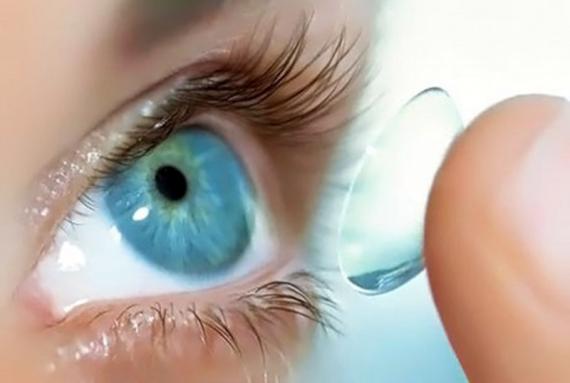 контактные линзы и сухость глаз