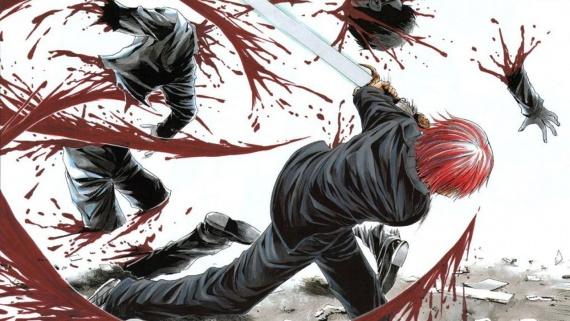 Кровавое аниме 21+
